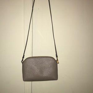 H&M taupe crossbody purse